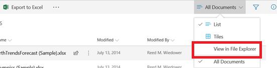 View In File Explorer - Modern UI