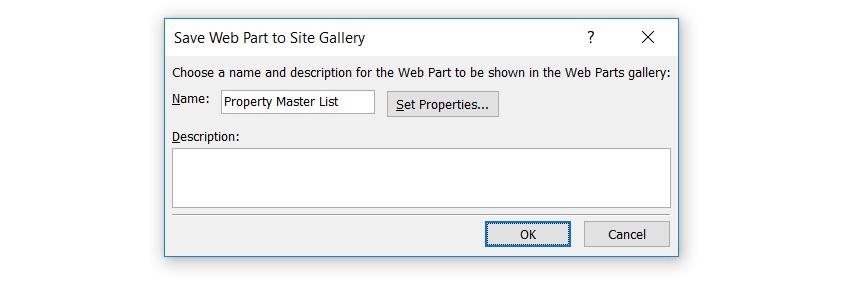 Create Web Part